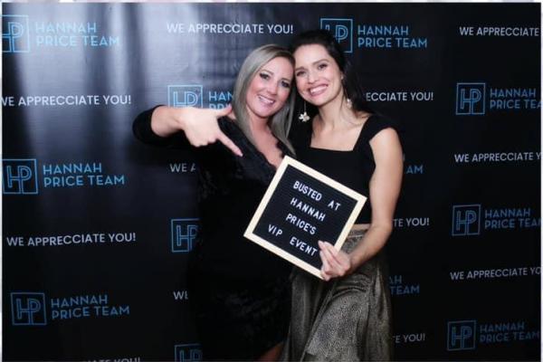 Hannah Price Team VIP Event